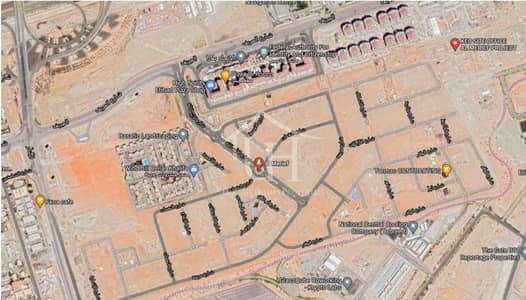 Plot for Sale in Khalifa City A, Abu Dhabi - Corner | Single row |Al Merief khalifa A