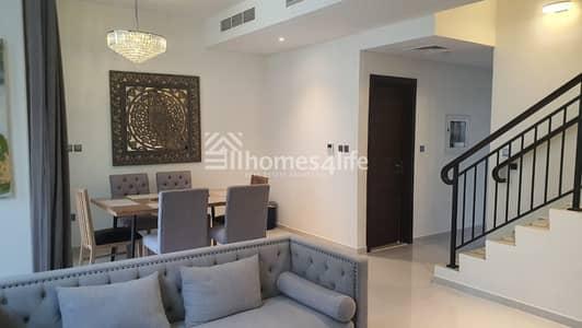 تاون هاوس 4 غرف نوم للايجار في أكويا أكسجين، دبي - FURNISHED | 4 BED + MAID'S | BRAND NEW