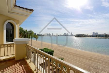 4 Bedroom Villa for Sale in Palm Jumeirah, Dubai - Atrium Entry | Close to Tip | Large Plot