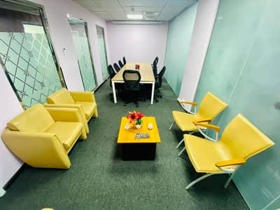 مکتب  للايجار في شارع إلكترا، أبوظبي - Office Space at a Lowest Price! No Commission II Free Amenities