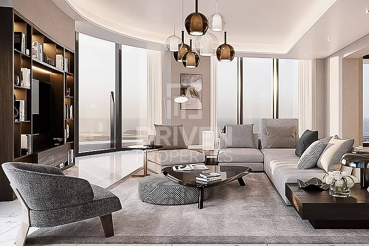 12 High Quality 4 Bed Penthouse in Downtown