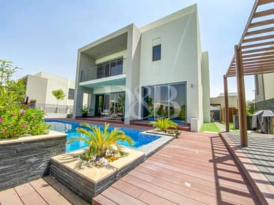 5 Bedroom Villa for Sale in Dubai Hills Estate, Dubai - Private Pool | Upgraded | Single Row | 5 Bed