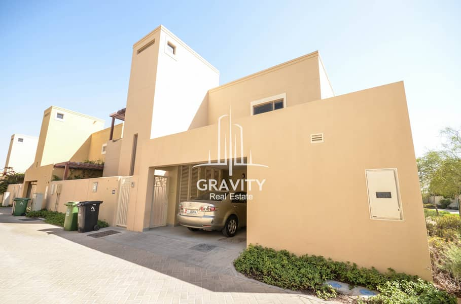 1 Superb 3BR Villa in Al Raha Gardens | Inquire Now
