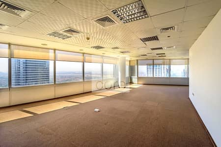 Office for Rent in Jumeirah Lake Towers (JLT), Dubai - Fully Fitted Office | Vacant | High Floor
