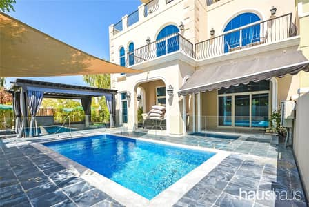 5 Bedroom Villa for Rent in Motor City, Dubai - Signature   5 Bed + Study   Private Pool