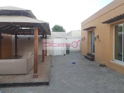 3 Bedroom Villa for Rent in Jumeirah, Dubai - Bright single storey 3BR villa with garden in Jumeirah
