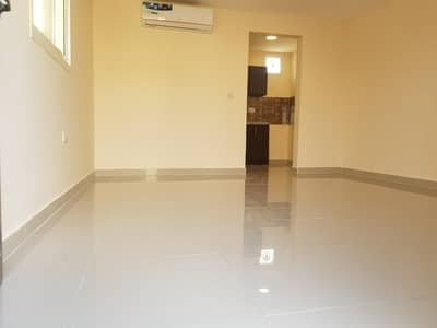 Studio for Rent in Shakhbout City (Khalifa City B), Abu Dhabi - amazing privet entrance huge studio khalifa city B