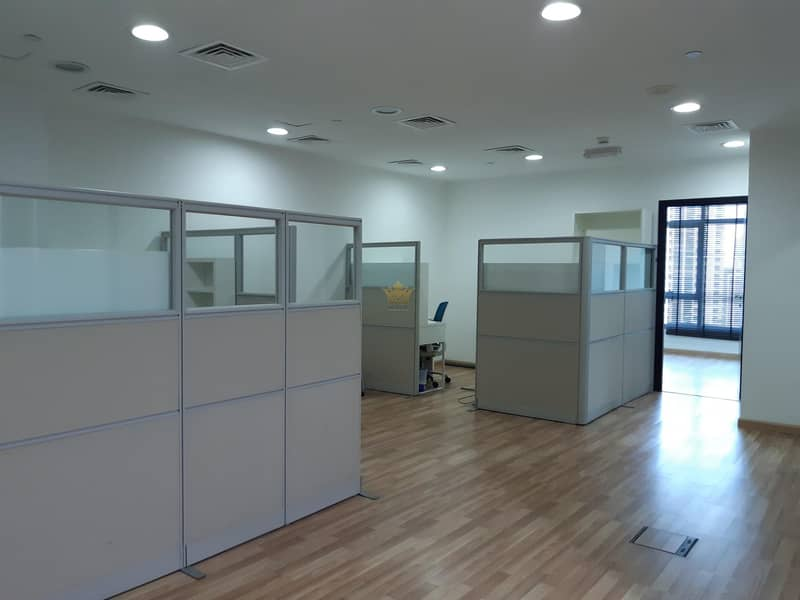 Fully Furnished Office For Rent In Grosvenor Business Tower