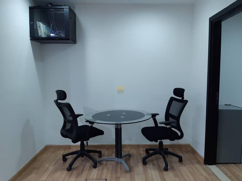 2 Fully Furnished Office For Rent In Grosvenor Business Tower