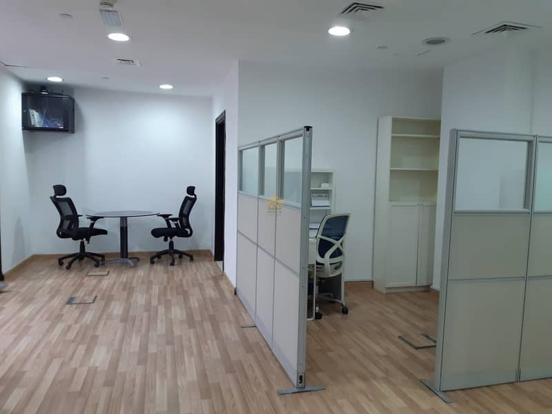 18 Fully Furnished Office For Rent In Grosvenor Business Tower