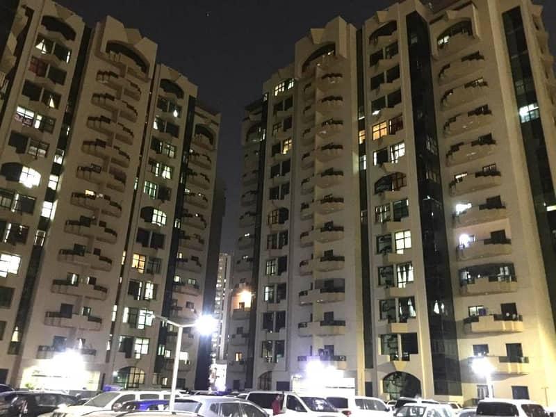Rashidya Towers, Spacious 1 Bedroom Hall Apartment for rent