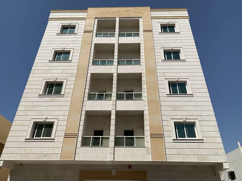 للأيجار شقة 1 غرفة وصالة أول ساكن  في منطقة  النعيمية مساحة واسعة  وتكييف مركزي