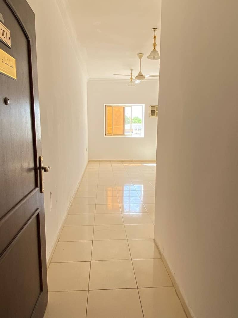OFFERING 12 CHEQUES OPTION WITH 1 MONTH FREE!! SPACIOUS 1BHK FOR RENT IN AL ZAHRA RAWDHA 3 ON MAIN ROAD