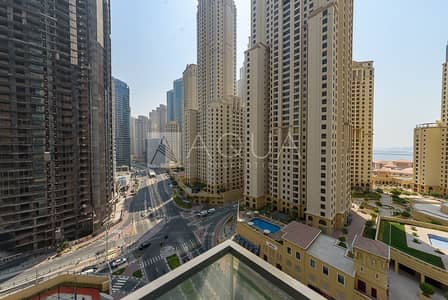 1 Bedroom Apartment for Sale in Dubai Marina, Dubai - JBR and Sea Views | Bright 1 BR | Vacant