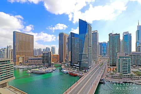 3 Bedroom Apartment for Sale in Dubai Marina, Dubai - 3 Bedroom | Maids Room | Full Marina View