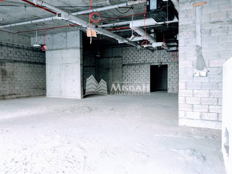 2 086 sq.ft. Retail space for Supermarket in Karama