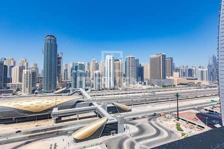 استوديو  للايجار في أبراج بحيرات الجميرا، دبي - Panoramic View on High Floor
