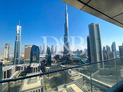 شقة 3 غرف نوم للايجار في وسط مدينة دبي، دبي - All Bills Included | Full Burj Khalifa View