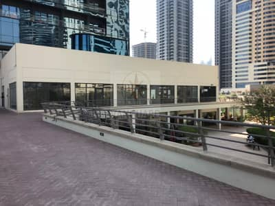 محل تجاري  للايجار في أبراج بحيرات الجميرا، دبي - Shell and Core Retail Space with Lake View in JLT