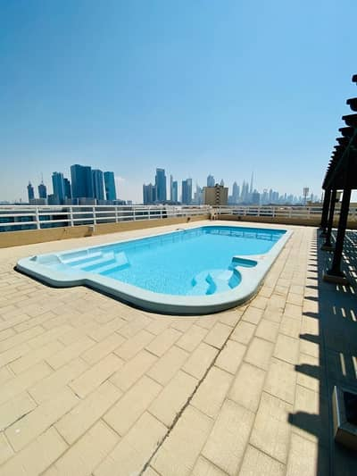 2BHK available in Al Diyafa with Maids Room