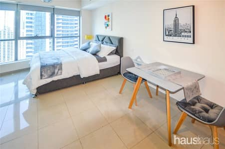 Studio for Rent in Dubai Marina, Dubai - Brand New everything   Fully Furnished   Renovated