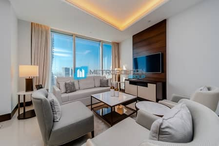 Luxury Serviced Apt|Furnished 2 Beds|Downtown View