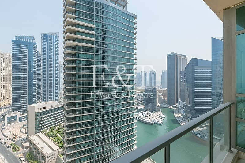 High Floor with Partial Marina and Sea View