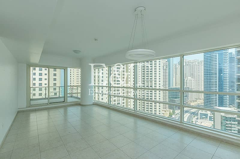 2 High Floor with Partial Marina and Sea View