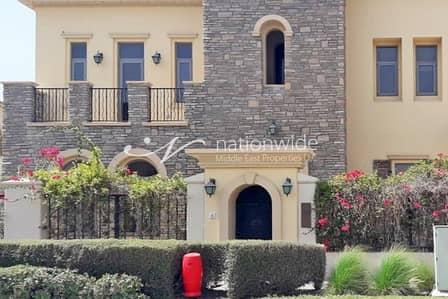 فیلا 5 غرف نوم للايجار في جزيرة السعديات، أبوظبي - A Luxurious Urban Gem in This Mediterranean Villa