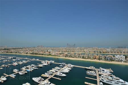فلیٹ 3 غرف نوم للبيع في نخلة جميرا، دبي - Panormaic Sea View   Unique   Best Unit