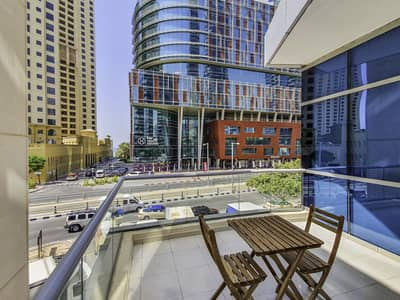Studio for Rent in Dubai Marina, Dubai - Cozy Studio | Homely Furnished | Partial Seaview