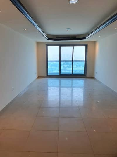 2 Bedroom Apartment for Rent in Corniche Ajman, Ajman - BIG KITCHEN with MAIDS ROOM 2BHK W/ PRIVATE PARKING VERY CLEAN 50K (CITY VIEW)