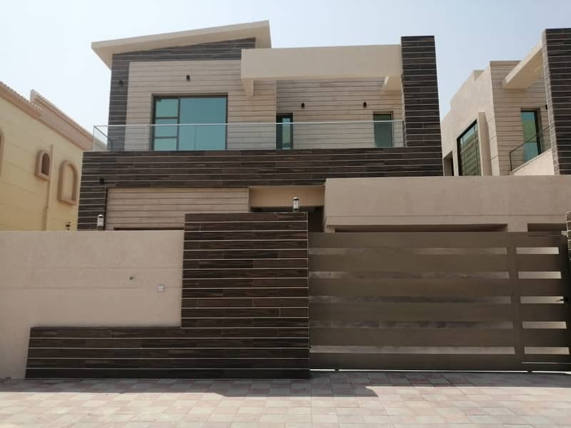 For lovers of luxury and wonderful design, a distinctive villa for sale in Ajman