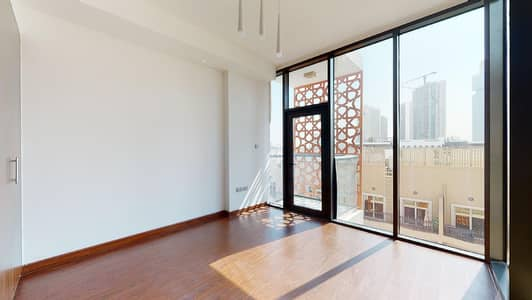 1 Bedroom Flat for Rent in Jumeirah Village Circle (JVC), Dubai - Wooden floors | Open kitchen | Contactless tours