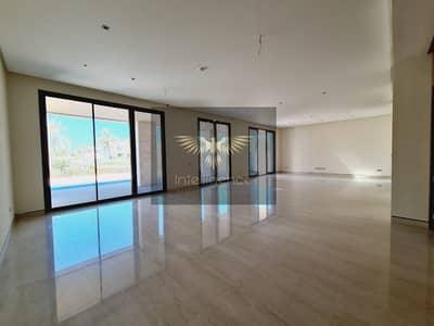 7 Bedroom Villa for Rent in Saadiyat Island, Abu Dhabi - Modified Outside / Deluxe Beachfront Villa w/ Pool