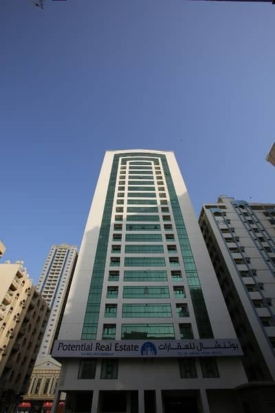 1 Master BedRoom - Free AC - Opposite AL MAJAZ Park ( Buhairah Cournish - 25000 One Month Free )