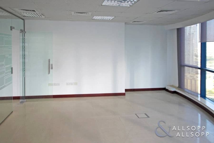 10 Fitted Office | Partitioned | High Floor Unit