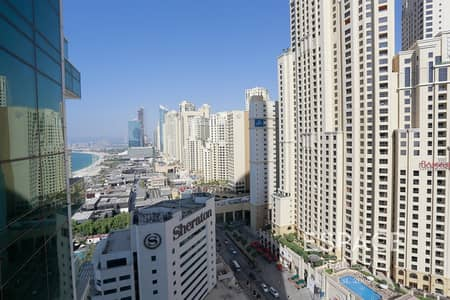 2 Bedroom Apartment for Rent in Jumeirah Beach Residence (JBR), Dubai - Unfurnished - JBR View - High floor