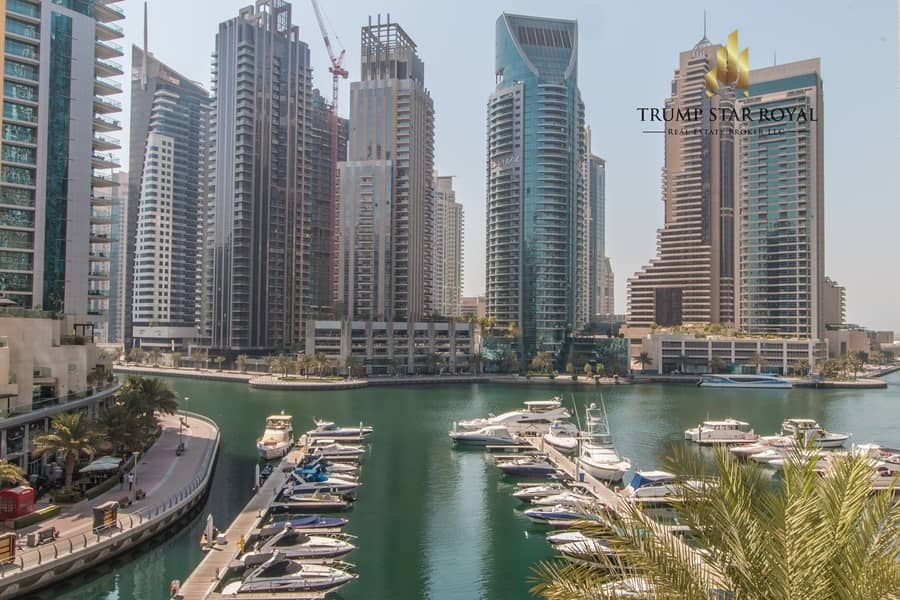 36 Full Marina View | 4BR+M+S Villa| EMAAR Six Towers