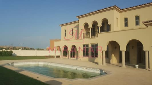 5 Bedroom Villa for Rent in Saadiyat Island, Abu Dhabi - PREMIUM ARABIAN VILLA WITH PRIVATE POOL!!! GOLF COURSE VIEW!! NICE GARDEN!