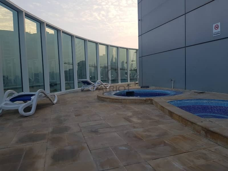 15 FULLY FURNISHED  Huge Studio w Balcony  40k / Chiller Free / Front of Metro Stn / Vacant