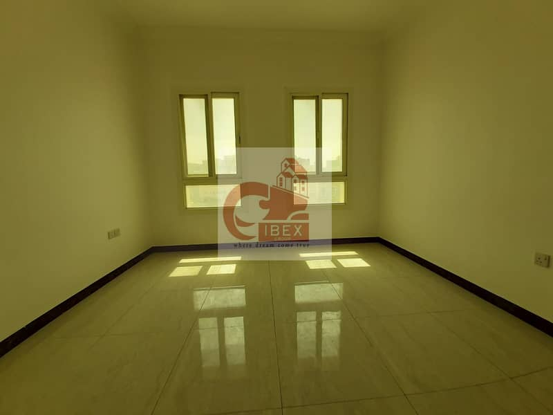 Like a brand new building 1bhk only 21k near to school area muwaileh sharjah