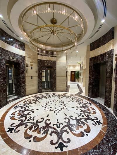شقة 2 غرفة نوم للايجار في شارع الشيخ مكتوم بن راشد، عجمان - غرفتين وصالة للإيجار في برج الفاتح عجمان