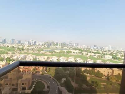 فلیٹ 3 غرف نوم للايجار في مدينة دبي الرياضية، دبي - Golf View | Luxury Affordable Furnished 3 B/R Apt.| Elite Sports Residence