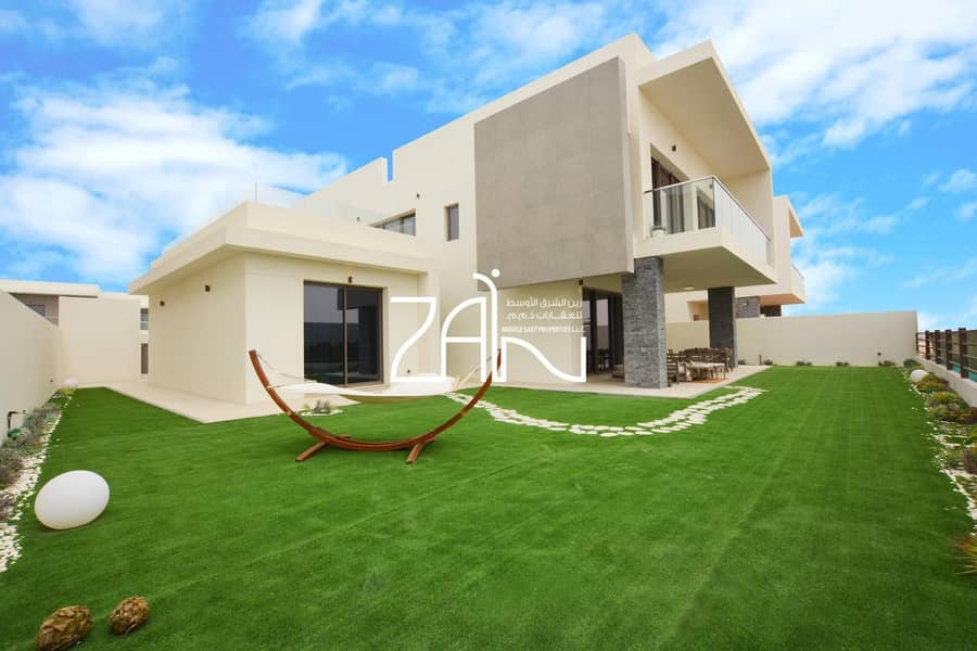 15 Golf Front 4 BR Villa on Large Plot Handover Soon Book Now
