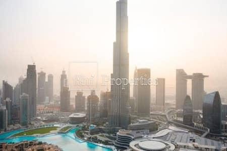 شقة فندقية 2 غرفة نوم للبيع في وسط مدينة دبي، دبي - Luxury 2 BR + Study | Full Burj & Fountain View