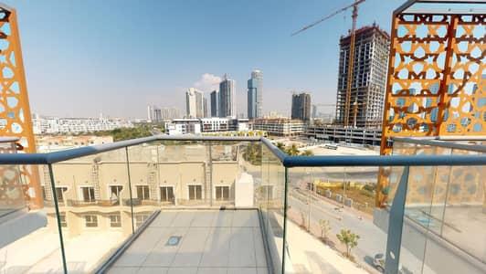 شقة 1 غرفة نوم للايجار في قرية جميرا الدائرية، دبي - Spacious balcony | Wooden floors | Contactless tours
