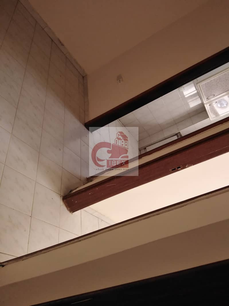 13 Money saving offer 1-BHK JUST 15k central ac on the road Muwaileh