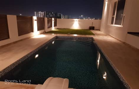 5 Bedroom Villa for Sale in Al Furjan, Dubai - Upgraded Brand New Modern 5 BR Villa Plus Maid and Pool.