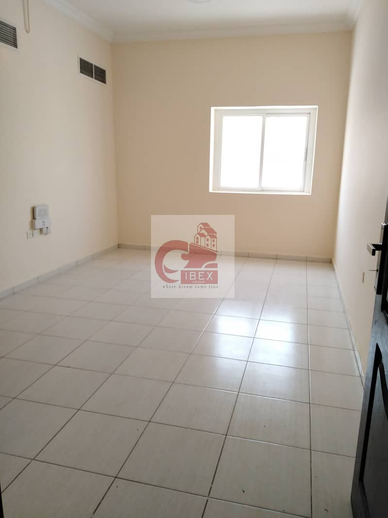 1/Month free Real Size 1-BHK just 19k central ac on the road Muwaileh